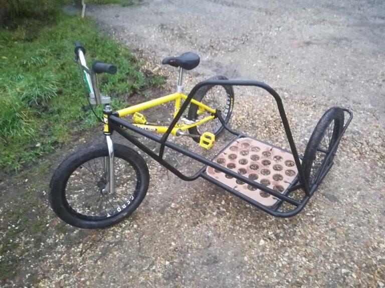 T45 Chromoly BMX Sidecar